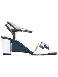 Fendi 'Sculpture' Sandals Blue