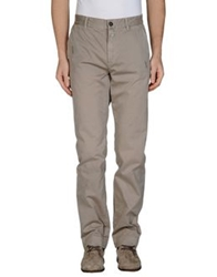 Closed Casual Pants Coral