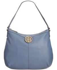 Tommy Hilfiger Maggie Pebble Leather Large Hobo