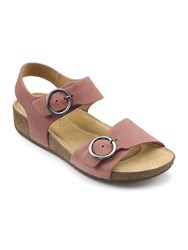 Hotter Tourist Casual Sandals Salmon