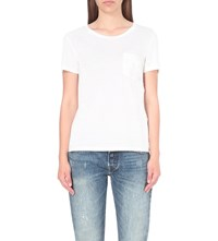 Levi's The Perfect Cotton Jersey T Shirt White