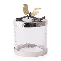 Michael Aram Butterfly Gingko Kitchen Canister Silver