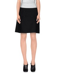 Tara Jarmon Skirts Mini Skirts Women Dark Blue