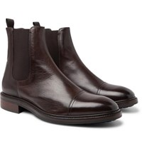 Paul Smith Jake Leather Chelsea Boots Dark Brown