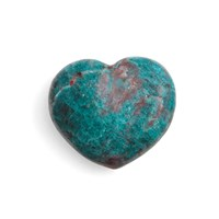 Aerin Carved Stone Heart Small Turquoise