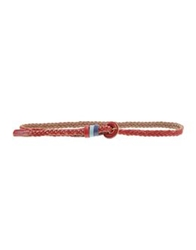 Pepe Jeans Belts Red