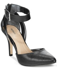 Styleandco. Style And Co. Maisy Pointed Toe Pumps Only At Macy's Women's Shoes Black