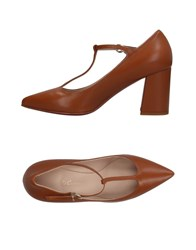 Couture Pumps Brown
