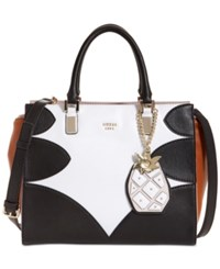 Guess Fruit Punch Society Small Satchel White