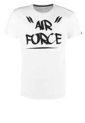 Alpha Industries Print Tshirt White
