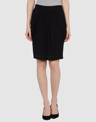 Miriam Ocariz Knee Length Skirts Black