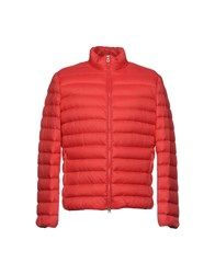 Geox Down Jackets Red