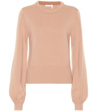 Chloe Cashmere Sweater Pink