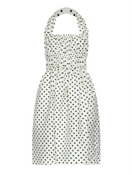 Piamita Rita Polka Dot Print Dress