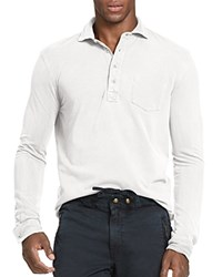 Polo Ralph Lauren Featherweight Regular Fit Polo White
