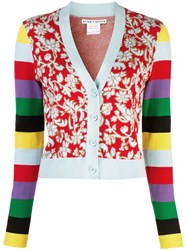 Alice Olivia Minako Longsleeved Cardigan Red