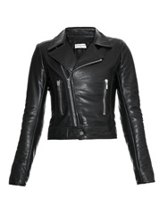 Balenciaga Classic Leather Biker Jacket