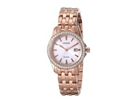 Citizen Ew1903 52A Eco Drive Silhouette Crystal Rose Gold Tone Stainless Steel Analog Watches Khaki
