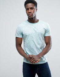 Solid T Shirt In Marl 1112 Green