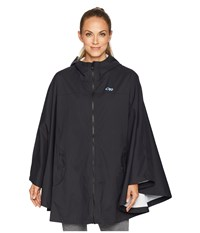 Outdoor Research Panorama Point Poncho Black Clothing