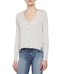 J Brand Ready To Wear Gia Cashmere Long Sleeve V Neck Cardigan Sweater
