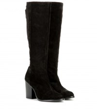 Rag And Bone Ashby High Suede Boot Black
