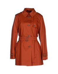Daks London Full Length Jackets Rust
