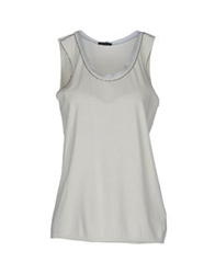 Anneclaire Sleeveless Sweaters Ivory