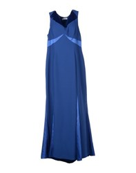 Carlo Pignatelli Dresses Long Dresses Women Blue