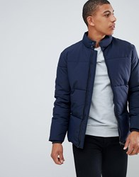 Selected Homme Puffer Jacket Dark Sapphire Navy
