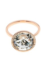 Ted Baker Women's London Rada Crystal Ring Rose Gold Color