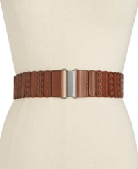 Styleandco. Style And Co. Casual Panel Stretch Belt Only At Macy's