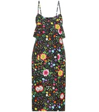 Victoria Beckham Floral Printed Dress Multicoloured