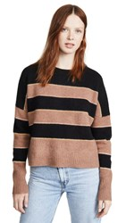 360 Sweater Abigail Cashmere Black Toffee