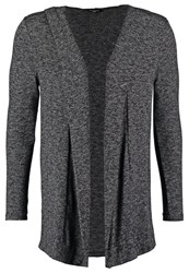 New Look Cardigan Dark Grey Dark Gray