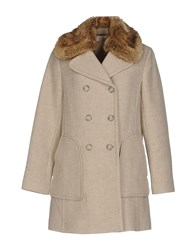 Rebecca Taylor Coats And Jackets Coats Light Grey