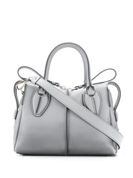Tod's D Styling Tote Bag Grey