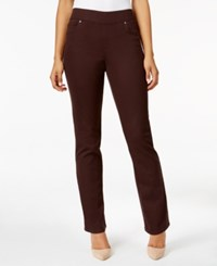 Styleandco. Style Co. Pull On Rinse Wash Slim Straight Leg Jeans Only At Macy's Rich Truffle