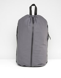 Rains Day Backpack In Grey Grey