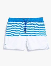 Native Youth Claction Swim White Blue