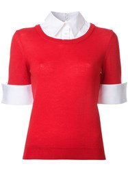 Mary Katrantzou Ella Jumper Red
