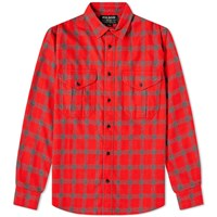 Filson Checked Alaskan Guide Shirt Red