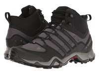 Adidas Terrex Swift R Mid Granite Black Charcoal Solid Grey Men's Climbing Shoes Gray