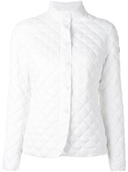 Save The Duck Giga Quilted Jacket White