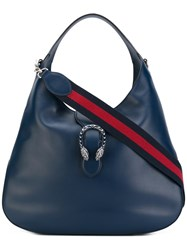 Gucci Dionysus Tote Women Leather Suede One Size Blue