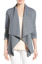 Women's Nydj Cotton Blend Cascade Front Jacket