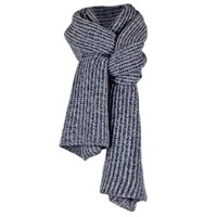 Cashmerism Long And Chunky Rib Knit Cashmere Scarf