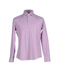 Del Siena Shirts Shirts Men Light Purple