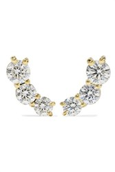 Melissa Kaye Aria 18 Karat Gold Diamond Earrings One Size