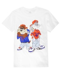 Freeze 24 7 Toon Squad Graphic T Shirt White